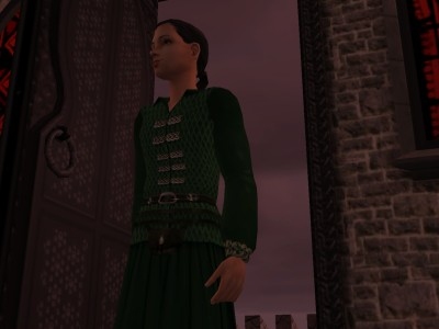 Dunstan turned away from the darkening dawn and walked back into the tower.