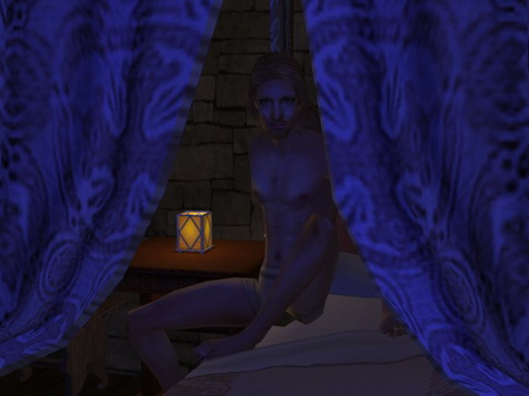Eirik did not like sleeping in strange beds.