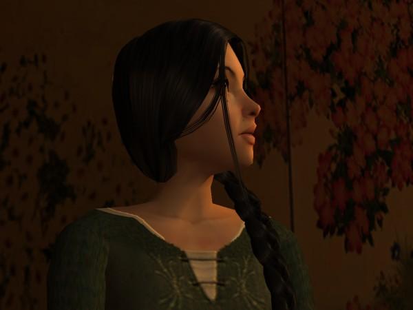 Lasrua turned her face away.