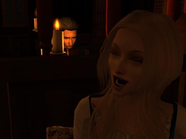 Iylaine burst into laughter.