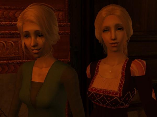 Closeup of Freya, and Estrid