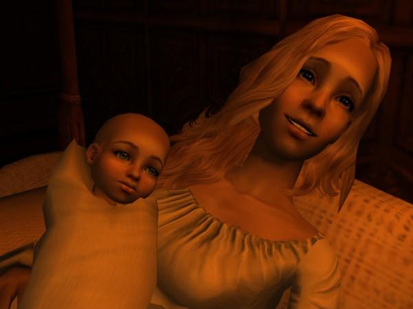 Athelis Ealstan and Ana