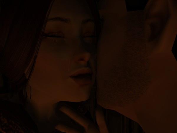 Dunstan kissed her cheek and was surprised to taste tears.