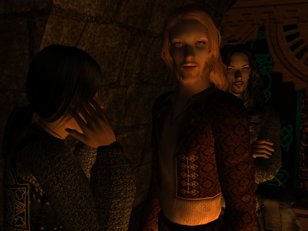 For an instant Eirik's face was blank with shock.