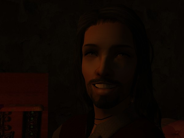 A wicked smile lit up Leofric's face.