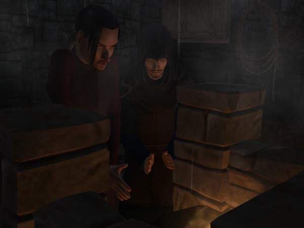 Malcolm hurried in and shouldered up next to Leofric beside the forge.