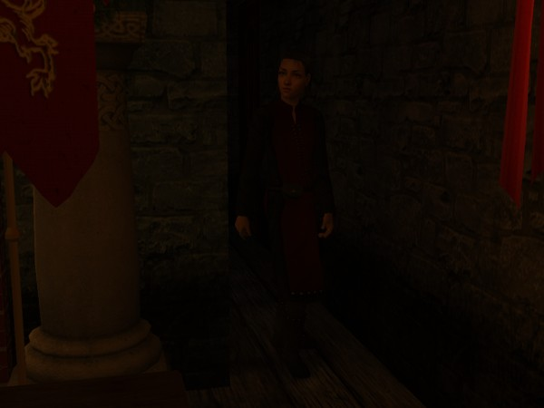 Colban slowed to a creeping walk as he stepped out of the stairwell.