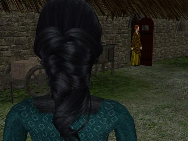 Her mother stood in the doorway.