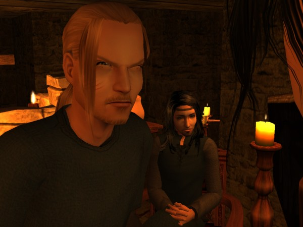 Harald seethed and spat with insults he dared not speak aloud.