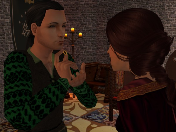 Britamund gets her ring.