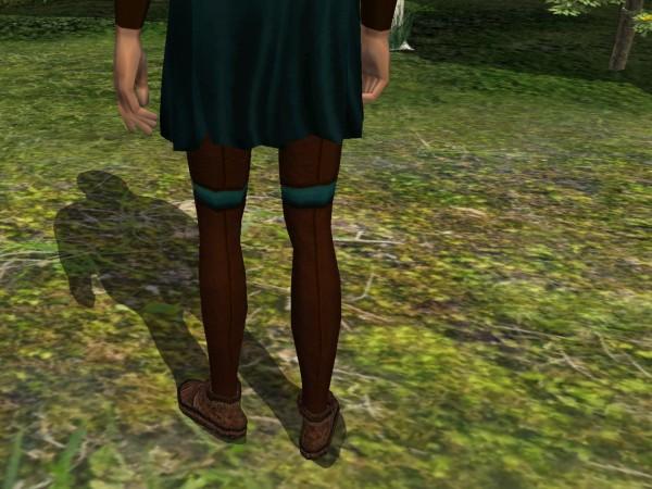 'Robin Hood tunic - back seam'