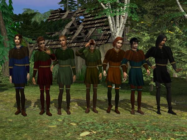 Robin Hood tunic - 7 recolors
