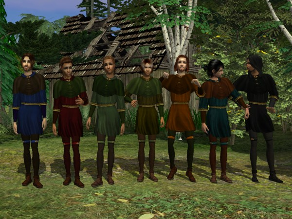 'Robin Hood tunic - Everyday colors'