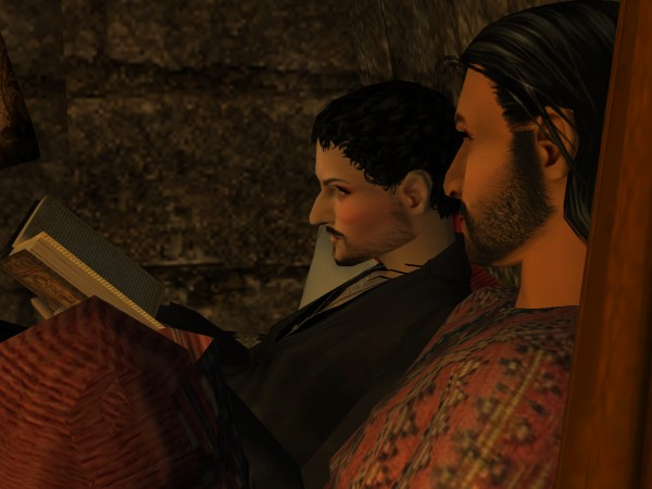 Gaethine instantly disliked Yusuf's sister.