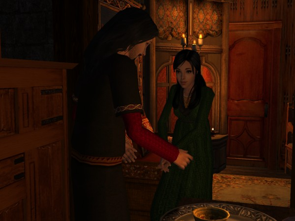 'May I offer you a cup of mead?'
